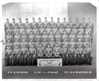 Elissagaray's Platoon 932 on graduation day.
