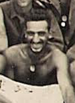 Sergeant Puliafico on Tinian, August 1944