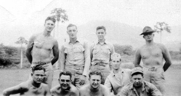 Company C marines at Camp Maui.