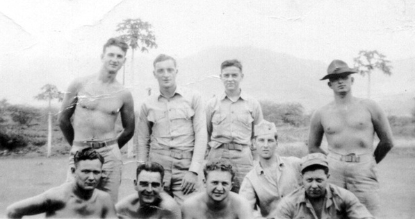 Company C marines at Camp Maui.