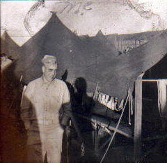 Another unidentified Marine at Camp Maui.