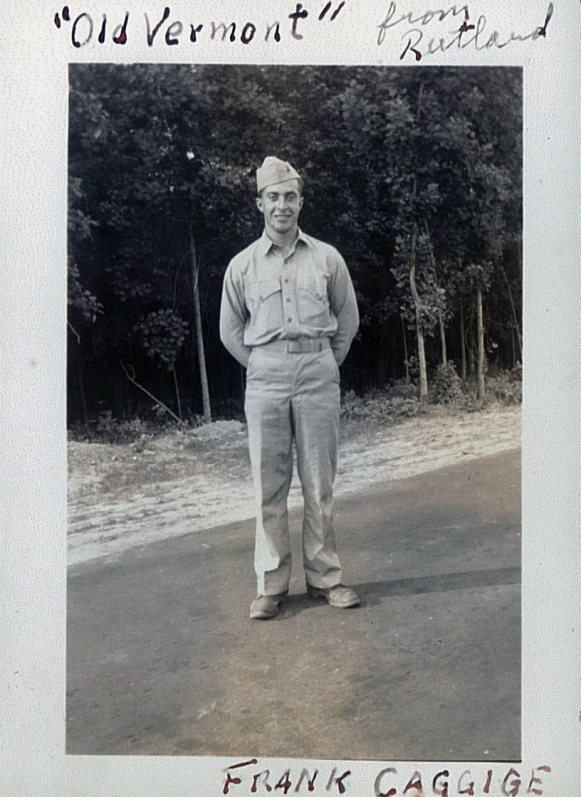 Caggige went into aviation supply at Cherry Point, North Carolina.