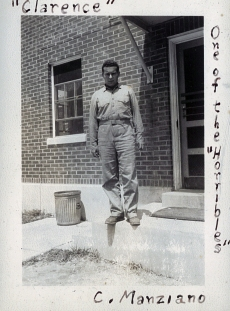 Clarence Manziano became a supply clerk with an air warning squadron in San Diego, California.