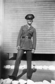 JJ Franey at Camp Pendleton, 1943.