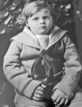 Phil Junior in 1923, age 3.