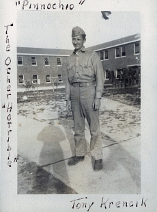 Anthony J. Krencik was part of the Quartermaster School. He became an aviation supply clerk.