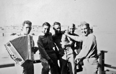 George Hall, Henry Doxtator, John Svoboda, Ronald Palmer & Raymond Davis.