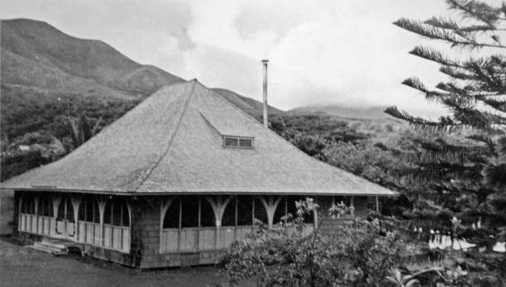 The mess hall of Kokokahi Rest Camp.