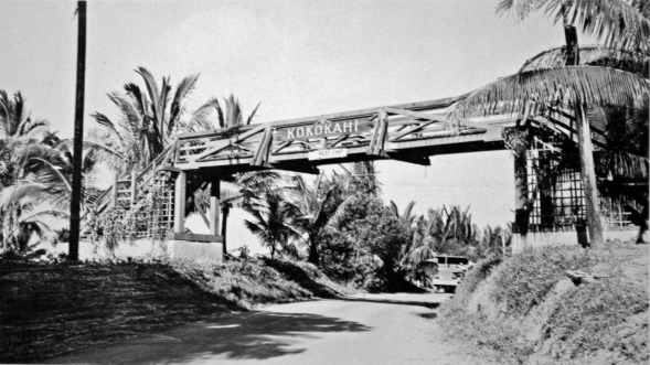 The rest camp was a converted YWCA facility in the town of Kokokahi, on the island of Oahu. Recovering Marines would gather by the gate to throw rocks at trucks carrying Italian prisoners of war.