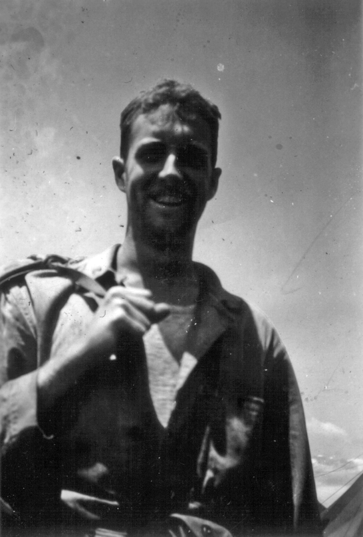 Getting back from a rough day in the field at Camp Maui, 1944.