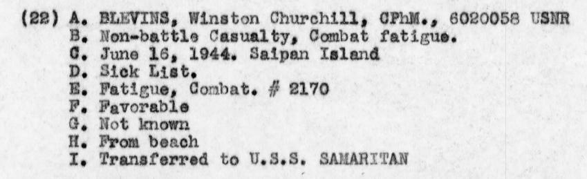 Log of USS Sumter, June 1944.