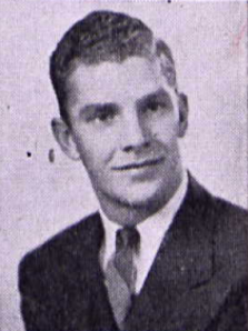 Ellsworth Blanchard as a college freshman, 1942.