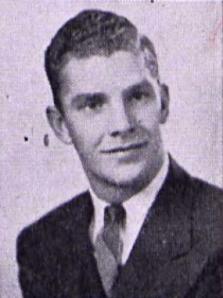 Ellsworth Blanchard as a college freshman, 1942.
