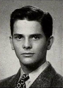 Daniel Danhauer as a senior at Oak Park / River Forest High School, 1943.