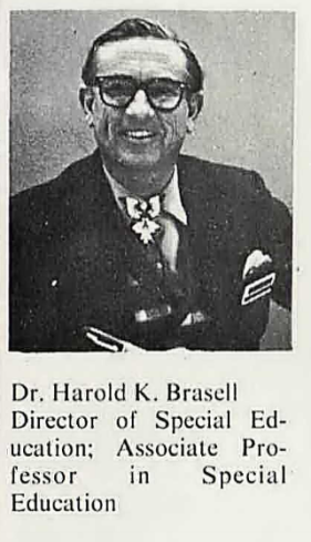 Dr. Harold Brasell of Eastern New Mexico University, 1971.