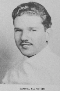 Doc Blumstein's 1939 photo it the Synapsis yearbook.