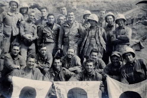 1/24 corpsmen after Iwo Jima.