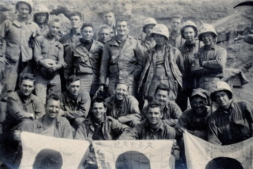 1/24 corpsmen after Iwo Jima.