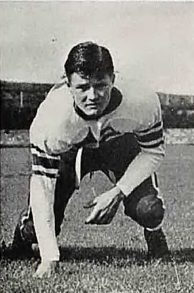 Anderson was a guard for the Nebraska State Teacher's College football team.