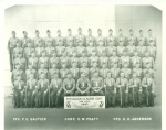 Armand's recruit platoon at San Diego.