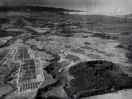 Camp Maui as seen from the air. Official USMC Photo.