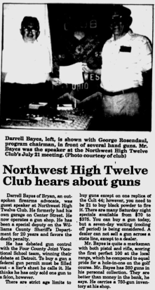 The Bryan Times, July 26, 1988.