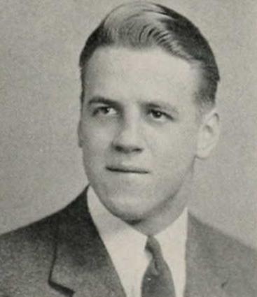Ken Beehner in the 1942 Syracuse University yearbook.