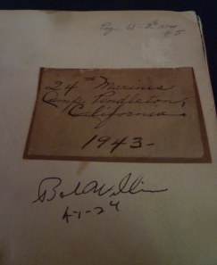 Fagan's handwritten note, and the key to his picture (at top) are original to the book. Bob Williams autographed it in 2011.