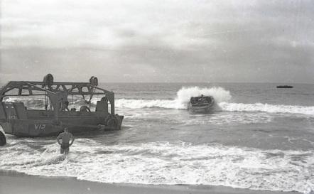 Preparing for the invasion of Japan at Camp Makawao.