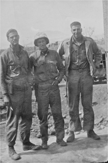 "Doc Lyon, ""Bruce,"" and Doc Porter"