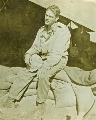 Lieutenant Richards P. Lyon, 1945.