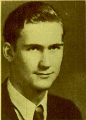 Schultz at Corvallis High, 1932.