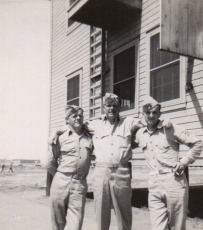 PFC Frank Schnell, PFC R. J. Kelly, Cpl. John Waytow.