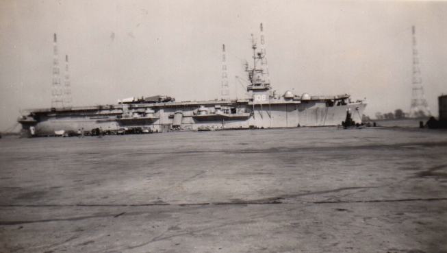 CVE-106 (USS Block Island), date unknown.