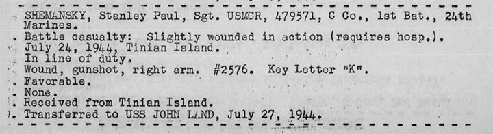 War Diary, USS Heywood.