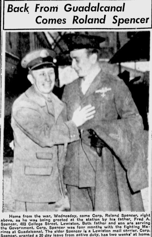 Lewiston Daily Sun, March 11 1943.