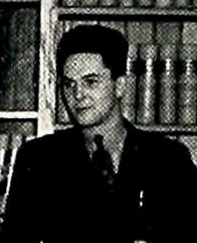 Wilbur Smolka at the University of Dayton, 1941.