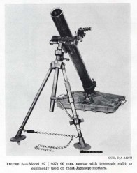The Model 97 90mm mortar.