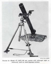 The Model 97 90mm mortar.