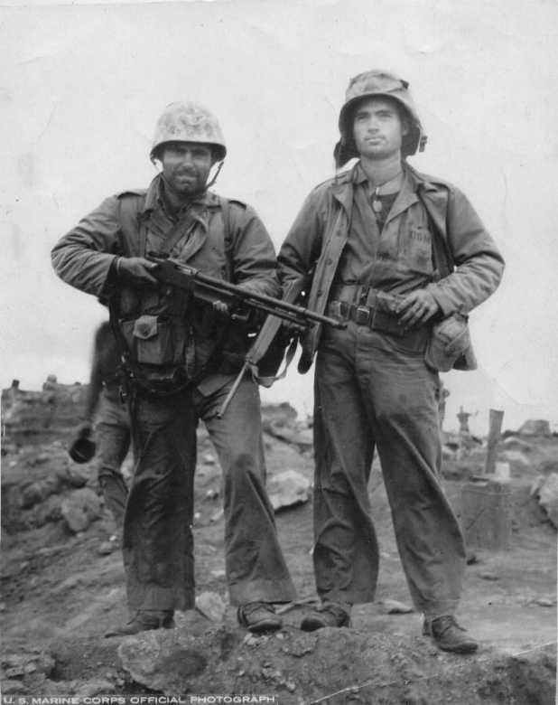 Iwo: D+4. February 23, 1945 – First Battalion, 24th Marines  Usmc