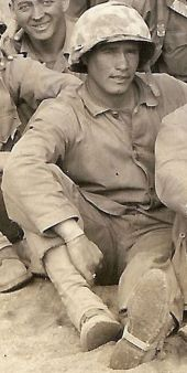 Harry Koff, demolitions platoon leader.