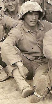 Harry Koff, demolitions platoon leader.