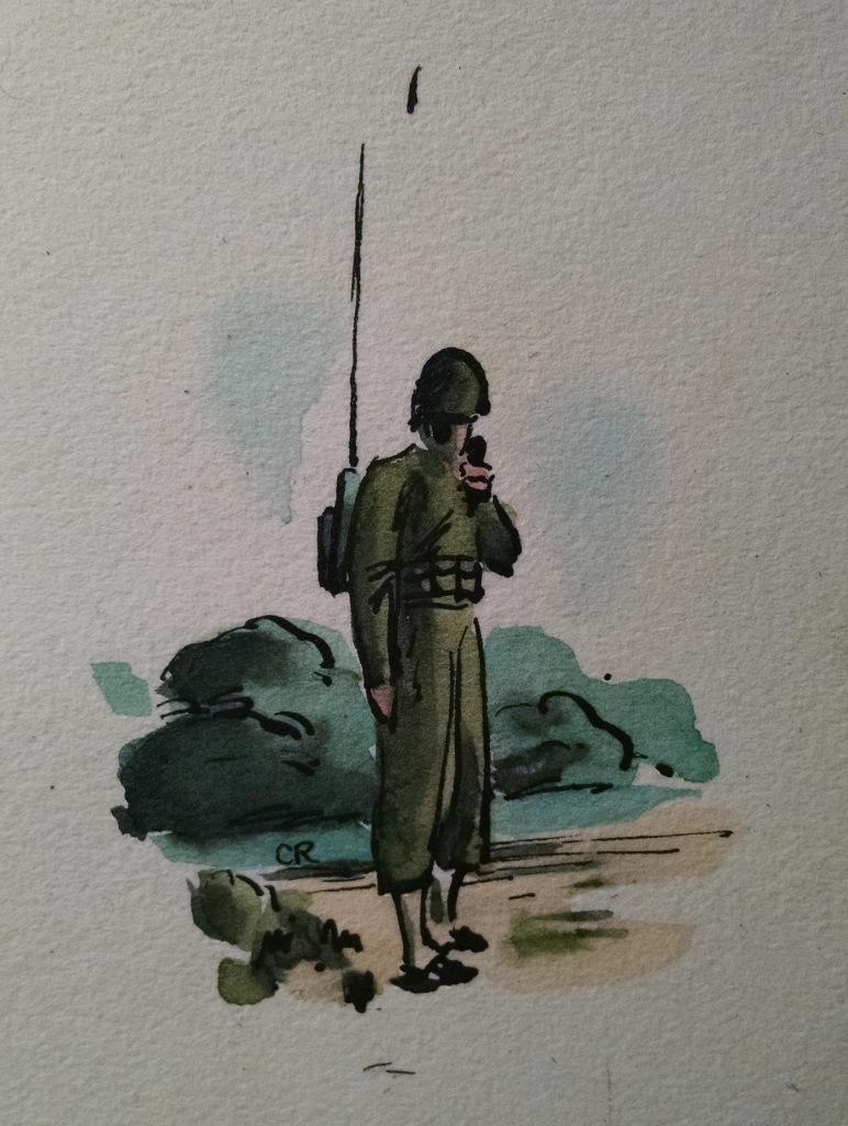 Phil Wood Painting