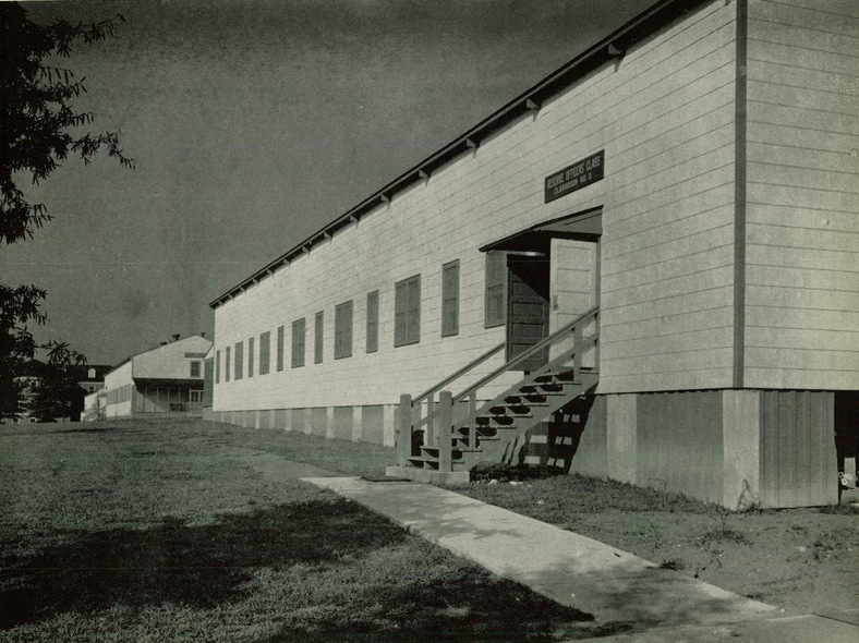 A classroom building at Quantico, 1942.