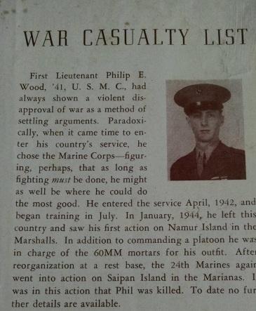 Obituary in the Garnet Letter, Swarthmore's alumni magazine.