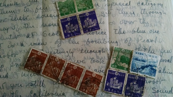 Stamps collected by Phil Wood on Namur.