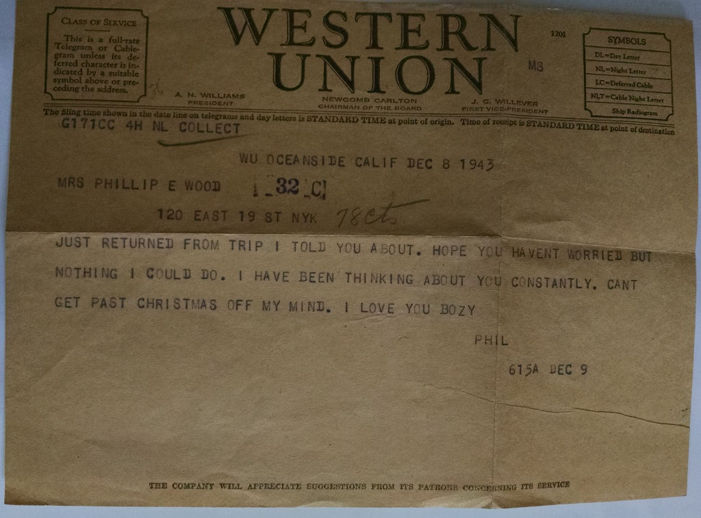 xmas telegram