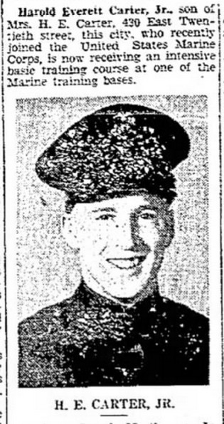Delaware County Daily Times, 31 December 1942.