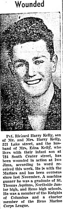 Nevada State Journal, 22 March 1945.