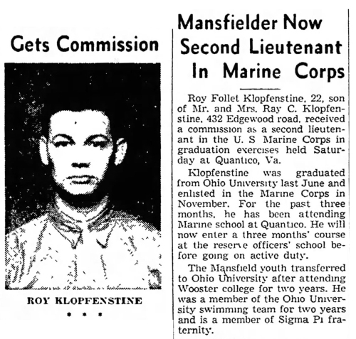 Mansfield News-Journal, 2 February 1942